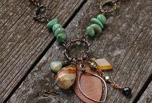 JEWELRY - NECKLACES / Beautiful jewelry  / by Tara Vojta
