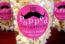 Ideas for Hannah's Bachelorette & bridal shower  / Hannah's getting married!  / by Rachel Scala