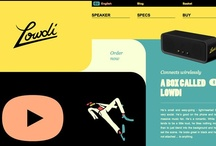 Web design, UI & Interactive / Amazing web, UI & interactive designs for inspiration! / by Alberto Leonardo