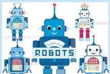 Robots / by Nikkala Stephens