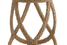 TREND: Rope Detailing / One of the latest trends we've been loving for Spring 2014 is rope detailing. Incorporate the trend into your home by with rope detailing on lamps, furniture, accessories & more! / by Home Gallery Stores