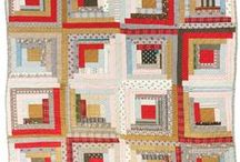 Quilt LogCabin / by Pat Sloan