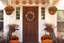 Decorating Doors for the Fall Holidays / Create hauntingly good curb appeal this fall with inspirational ideas for dressing up the front door, the front porch and the garage door. / by Clopay Garage Doors and Entry Doors
