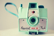 Vintage camera / because there's something pretty cool about real film stock and old skool cameras / by Bowerbird