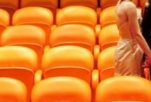 Orange Seats in the Forest / Prophetic Vision of 1972.  Coming to pass... / by Roberta Rainwater