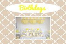 Birthdays / by Kelly Kucera
