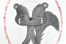 Design | Cute Critters / by Teresa & Moe