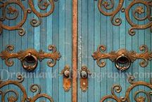 Garden Gates and Doors / Garden Gates & Doors for entrances real & imagined.  / by Ann Ayers
