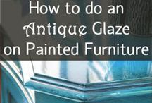 Painted Furniture and Such / painted furniture old and new, various and sundry other painted things :) / by Shelly Lickliter