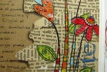 Art: Journals & Altered Books / loads of art journals, ideas, and tutorials for journals / by Shelly Lickliter
