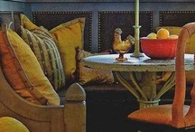 Banquettes / A collection of dining room, breakfast room and kitchen banquette seating. / by Allison Arnett