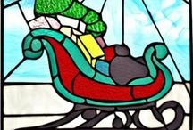 Stained Glass Christmas / by Peggy Bolks