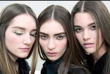 .runway makeup. / favorite beauty creations from recent runway shows / by Alexa Grace