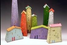Cute little houses / by Belinda Ross