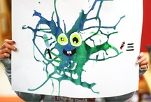 Preschool Art Ideas / by Karen Knapton