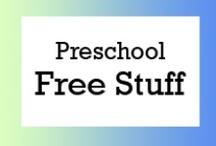 Preschool Free Stuff / Free teaching ideas, worksheets and fun classroom activities for preschool students. / by Brian Crawford