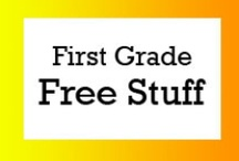 First Grade Free Stuff / Free teaching ideas, worksheets and fun classroom activities for first grade students. / by Brian Crawford