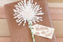 Gift Wrap and Present Presentation / Wrap Up your Gift in Style / by The Chic Site (Rachel Hollis)
