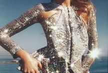 """Classy Glitter"" / Do you like things that sparkle?? Me too!!! / by The Chic Site (Rachel Hollis)"