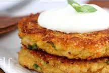 Burger Patties / Healthy burger patties / by Christy