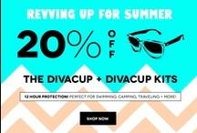 DivaCup Month / May is DivaCup month at Lunapads.com! Save 20% off The DivaCup and all DivaCup Kits / by Lunapads.com