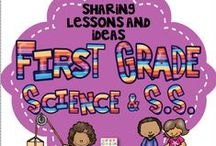 First Grade Science and Social Studies / This is a collaborative board to share crafts, ideas, and resources focused on First Grade Science and Social Studies. Feel free to post up to 2 items for sale per day when pinning a 1:2 ratio of sale to free resources to encourage unique content. Otherwise please pin one paid item per day. Thank you for your contributions making our board the best First Grade Sci. & Soc. Studies destination on Pinterest! To join this board, please visit me at kindergartenboomboom.blogspot.com for instructions. / by Cara Gingras Kindergarten Boom Boom