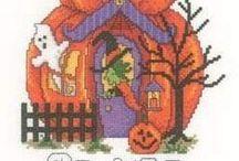 Cross Stitch - Halloween, / by Freddie Strawbridge
