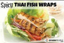 Fish & Seafood Recipes / by SparkPeople