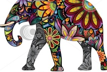 Elephants / by Eo  Dawn  ---- Virtuous Teas, Inc.