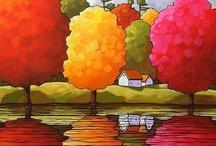 Autumn art / by Dee