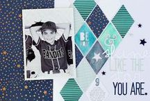Scrapbooking layout / by Caro_frenchy