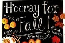 A U T U M N / Fall, Pumpkins, Leaves, Cider, Hay Rides / by Crystal Stewart