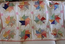 Quilting Inspiration - Pretty Pinwheels / Pinwheel piecing, quilting and stitching projects. / by Sew-Whats-New.com