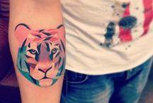 skin deep / tattoos / by Aninha Costa