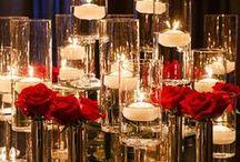 wedspiration_A&E_5215 / Black+White+Red = Classy/Elegant/Sparkly/Fun Wedding for A&E  #toucheweddings #renaissanceweddingvirginia #classicelegance #realwedding #vawedding / by Touche' Weddings & Events -Planning/Design