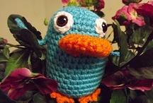Crochet - Amigurumi Animals....NOT Nerdy, Just Fun  :D / by Beth Messina