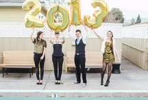 Party Inspiration: New Year's Eve / The style of this party at El Dorado Hotel was fun, vibrant New Year's Eve party with elements of a wedding thrown in. 
