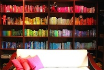 Bookcases / Books, bookcases, bookshelves, libraries & shelfies! / by Bonnie Burton