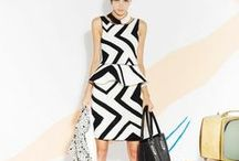 Black and White / A collection of black and white fashions / by Kaitlin Boger