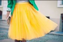 Mellow Yellow / A collection of yellow fashions / by Kaitlin Boger