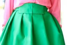 Green with Envy / A collection of green fashions / by Kaitlin Boger