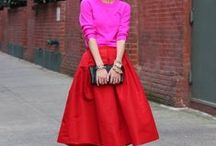 Color Blocked / A collection of multi-colored fashions / by Kaitlin Boger