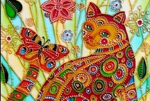 Artful Cats / Cats immortalized in art / by Lin Kerns