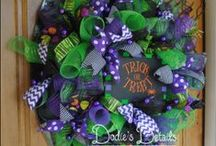 Craftiness / Ideas for wreaths- likes, colors, themes... Some are even 'Don't do this!'  / by Bristol Arnold