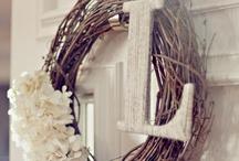 Wreaths. / by Stephanie Luttrell