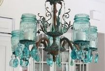 Upcycled, Repurposed Jars / by Virginia Simmons