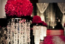 My Wedding Decor / All things the same as my wedding day.....my colors were ivory and black with red roses.....best day of my life / by Katelyn Jordan