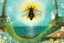 Bee Happy / This board is for the RB's, a group of women who've been best friends from childhood, and our daughters. The bee has become our symbol, and we love anything with bees on it!  / by Terra Maggiolino