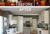 Before & Afters 1 - rooms, furniture makeovers / by 4Wits-End ..Art for the Romantic Heart
