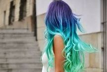 Crazy Hair / Strange and beautiful hair styles and colors! / by Bev